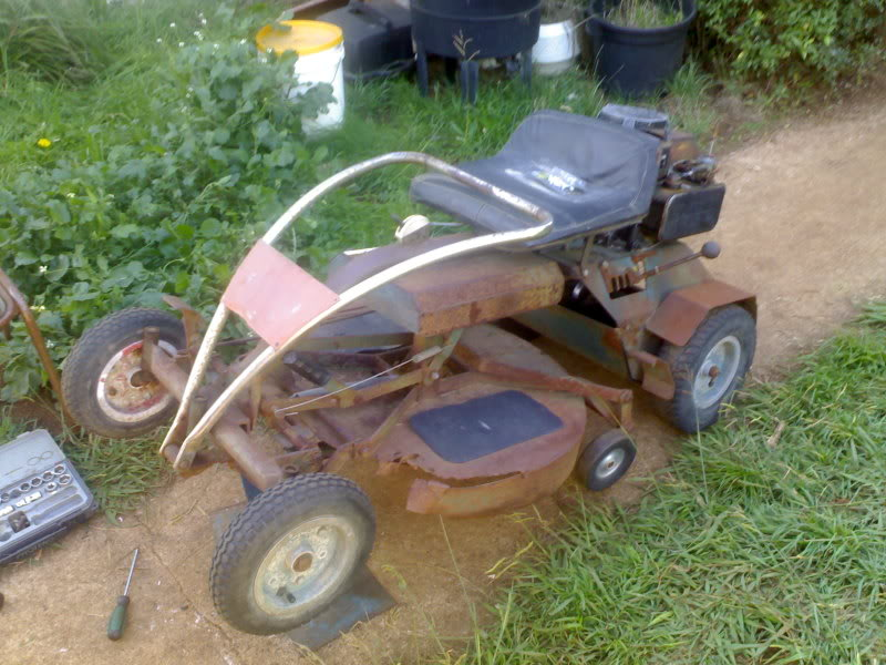 Old faithfull ID (Rover ride on, B&S 5 or 6 HP) - OutdoorKing Repair ...