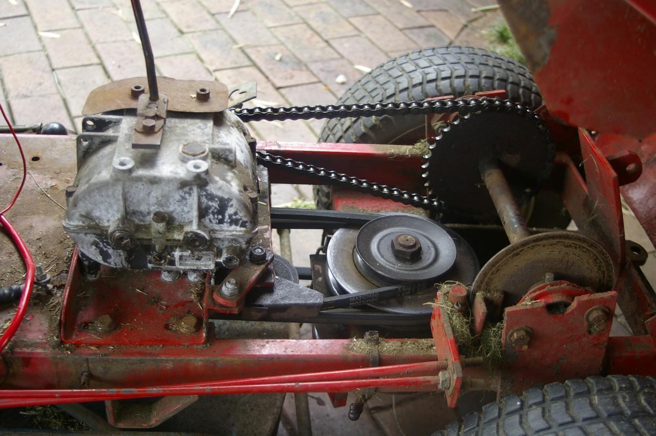 Rover Rancher 2 Belt Adjustment