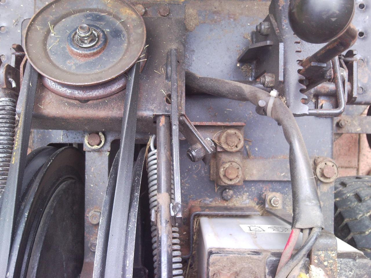 how to replace clutch on amc ride on mower