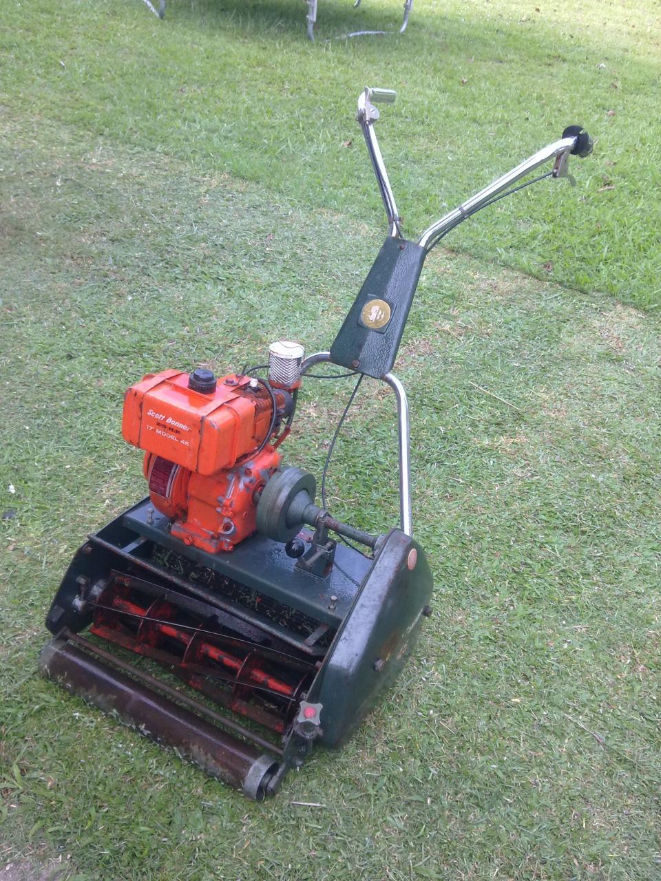 repair manual scott bonner 45 reel mower