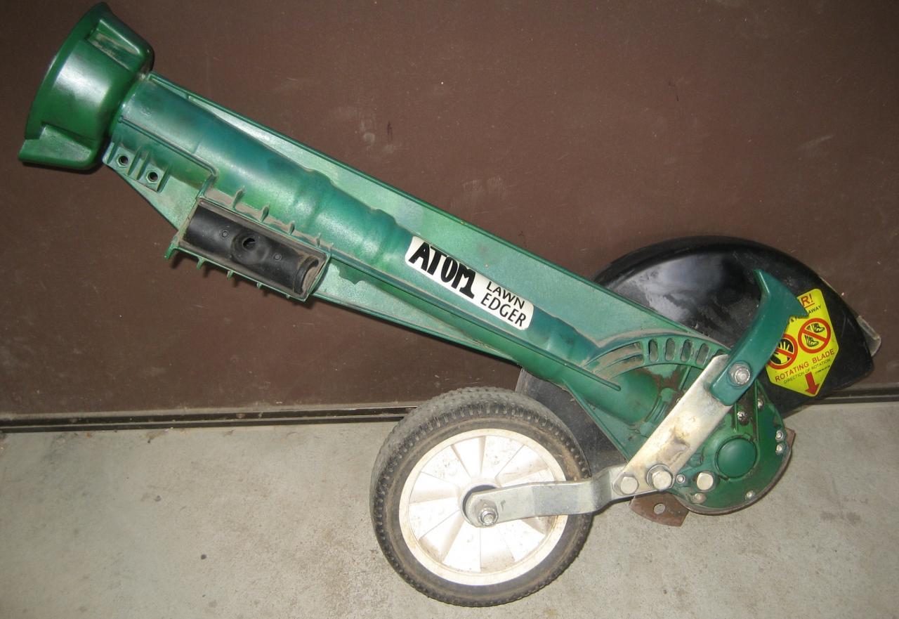 Shaft Drive Edger : Weedeater ge edger blade shaft outdoorking repair forum