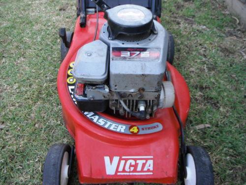 victa vantage lawn mower manual