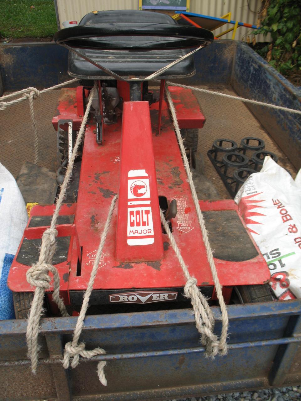 Barn Find Rover Colt Major Outdoorking Repair Forum