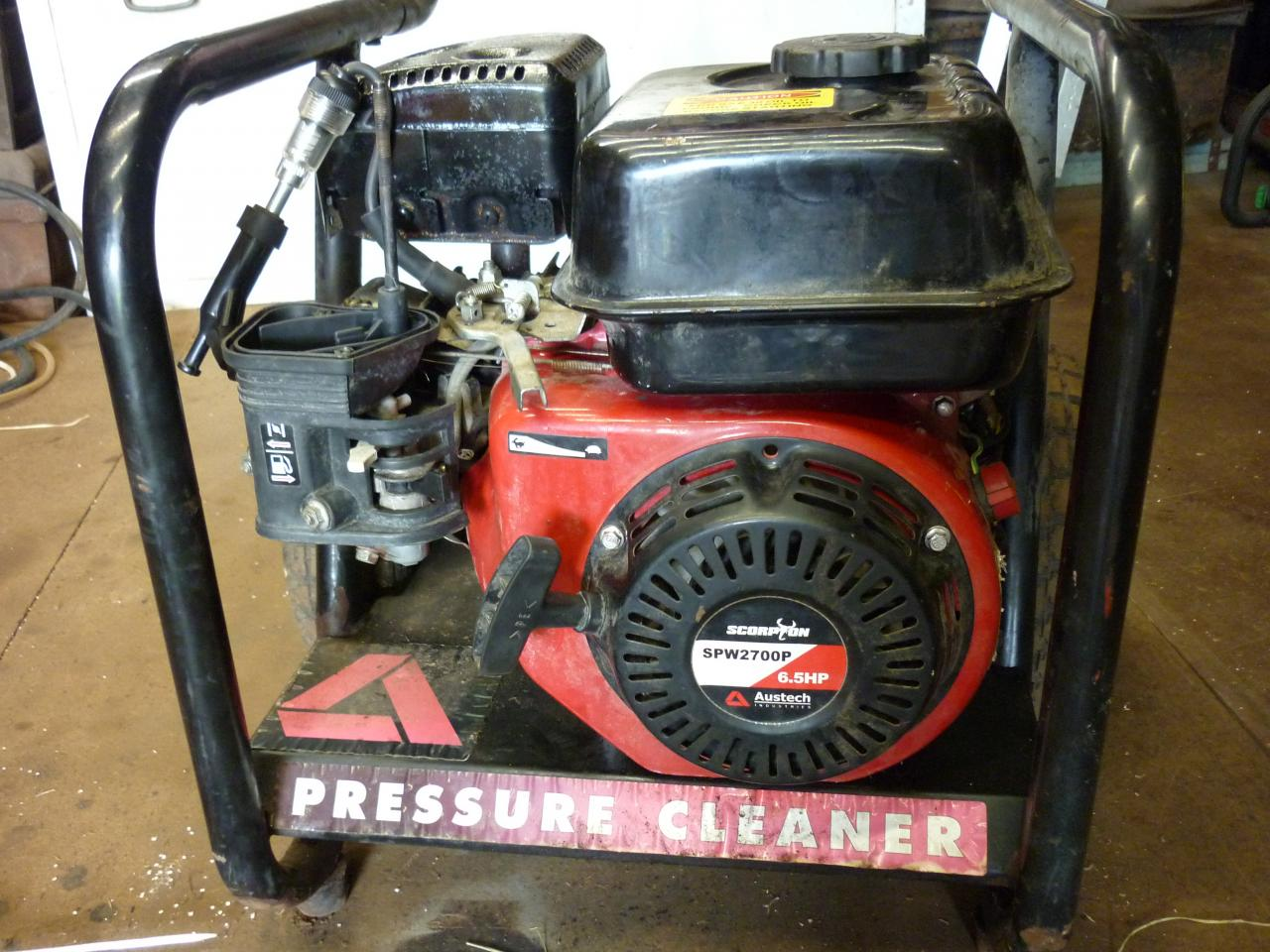 65 Hp Scorpion Pressure Cleaner 2500psi Outdoorking Repair Forum Gx200 Va2 Engine Jpn Honda Small Cylinder Diagram And Parts Hello First It Is An Sp 2700p The Has 200f Then 07110311702 On Side Of Machine