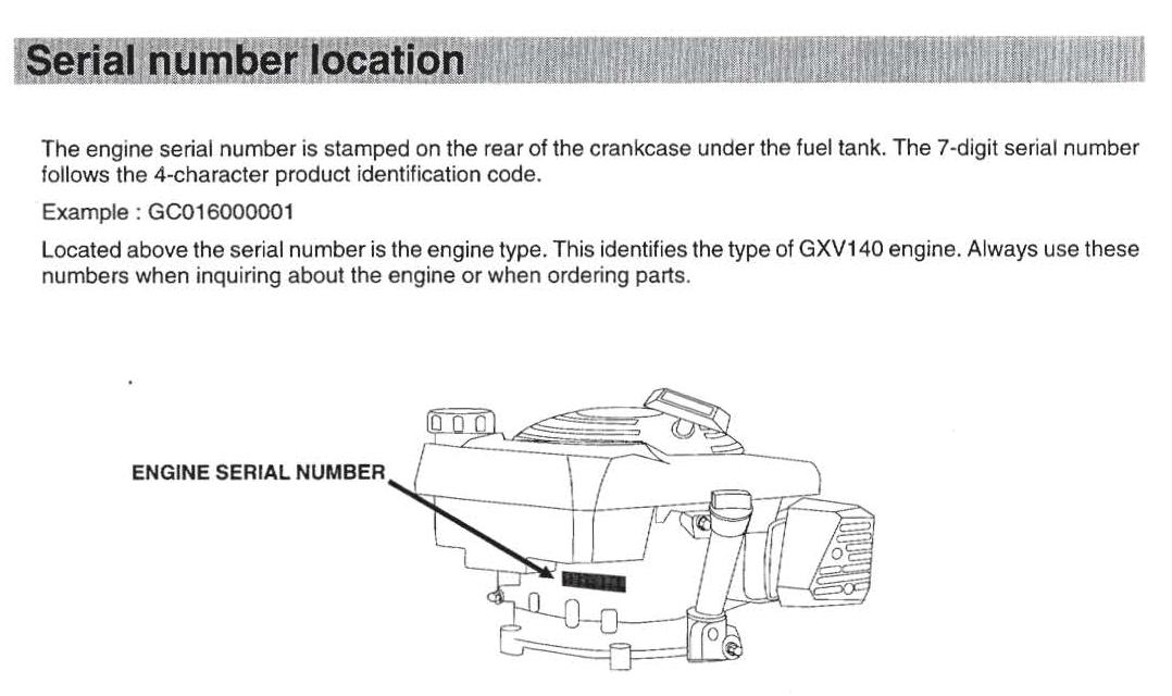 gxv140 vs gxv160 outdoorking repair forum rh outdoorking com Honda GXV140 Engine Honda Gxv530