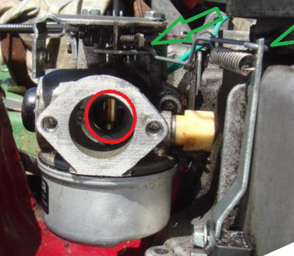 victa tvs90 tecumseh throttle linkage how  outdoorking Old Tecumseh Engines Tecumseh Vertical Engines