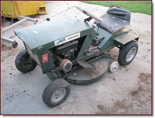 rover rancher 1970 s outdoorking repair forum rh outdoorking com Old Rover Mower rover rancher ride on mower manual
