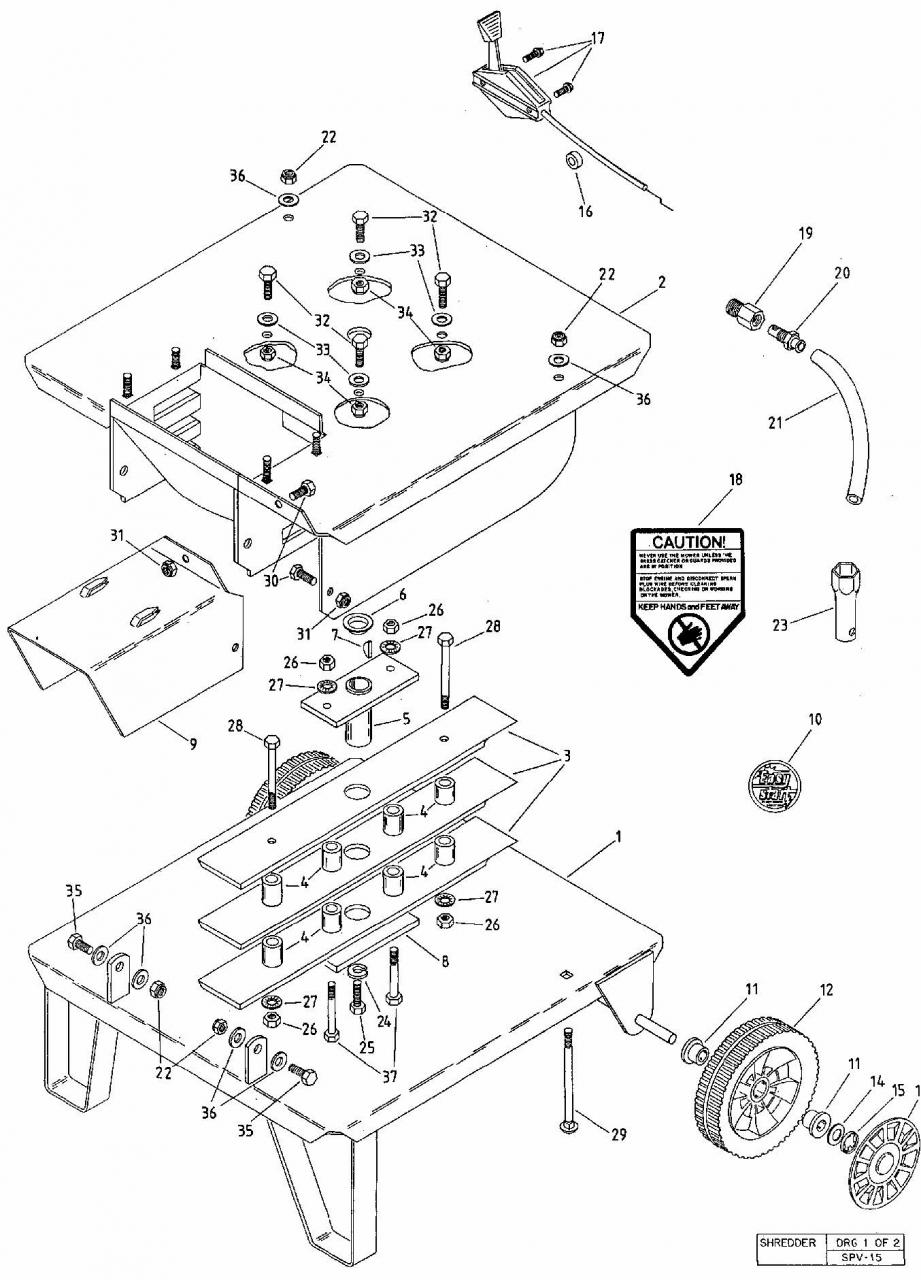 Rover 5 5 Hp Petrol Garden Shredder Chipper Mulcher