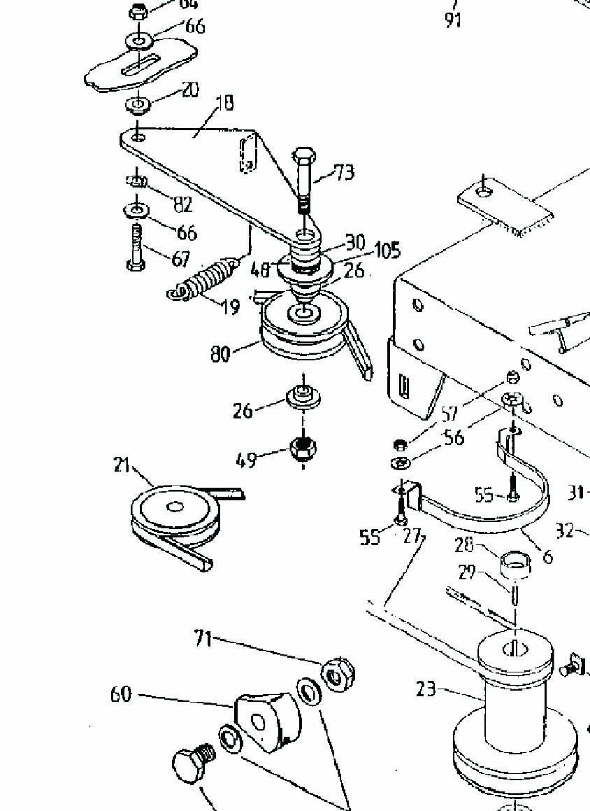 rover 28166 - engine pulley dimensions