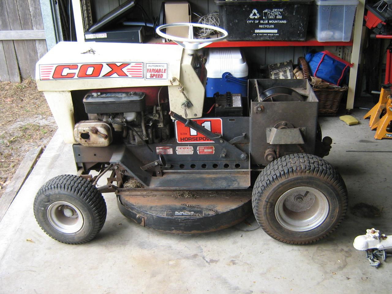Cox 11hp What Year Model Is It Outdoorking Repair Forum