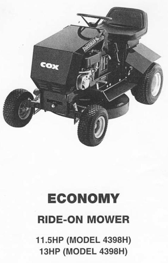Full Cox Stockman Hp Picture on Pushrod Engine Diagram