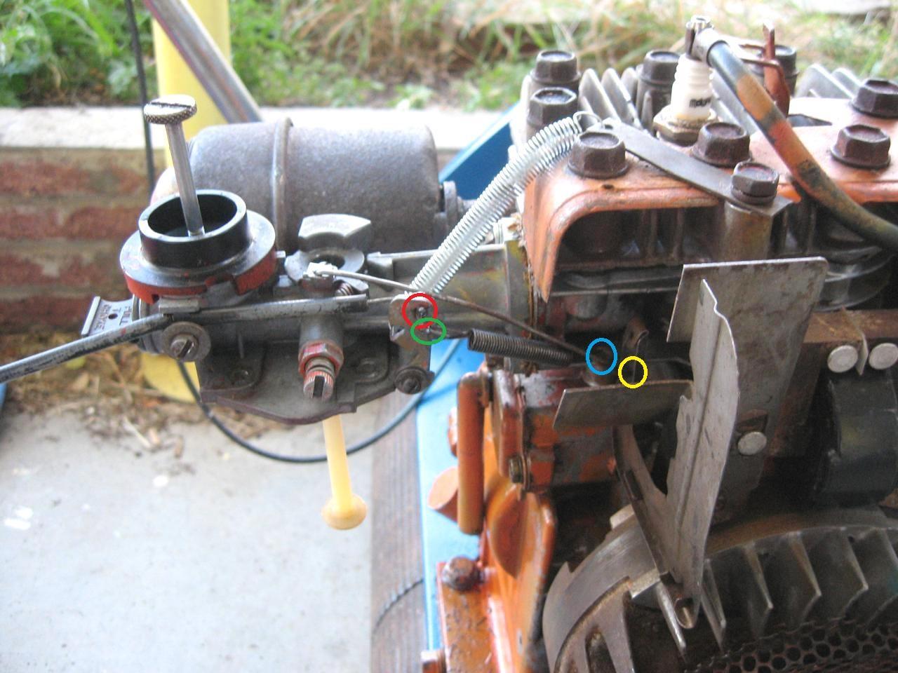Tecumseh Engine Carburetor Linkage Gallery Hp Governor Diagram Hd
