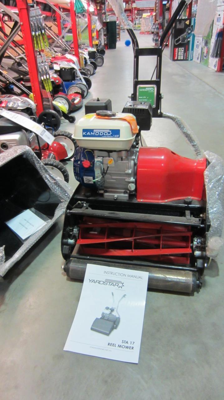 yardstar reel mower outdoorking repair forum rh outdoorking com Lawn Mower Manual Used Reel Mowers