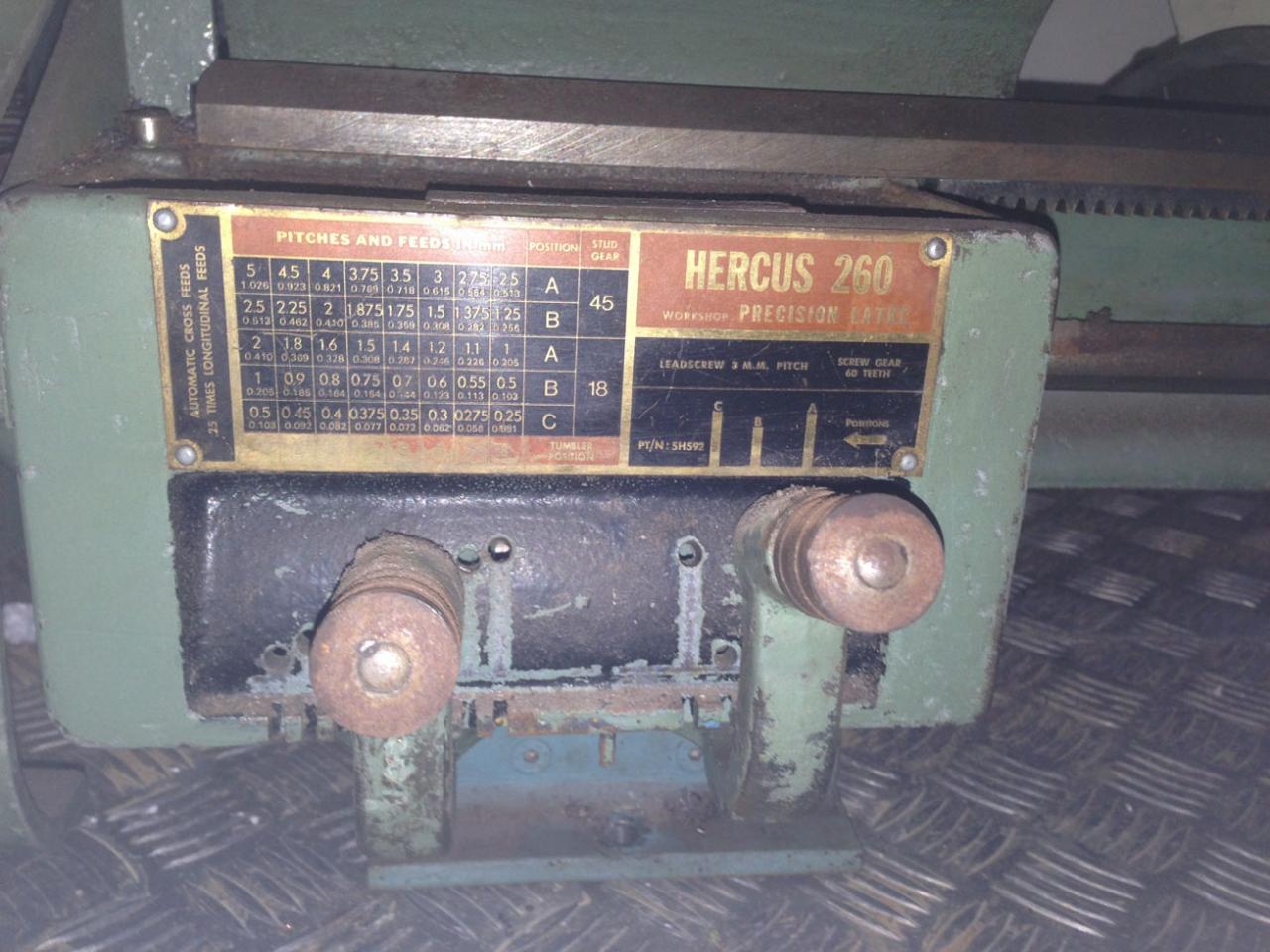 New (second hand) lathe for the shed  - OutdoorKing Repair Forum