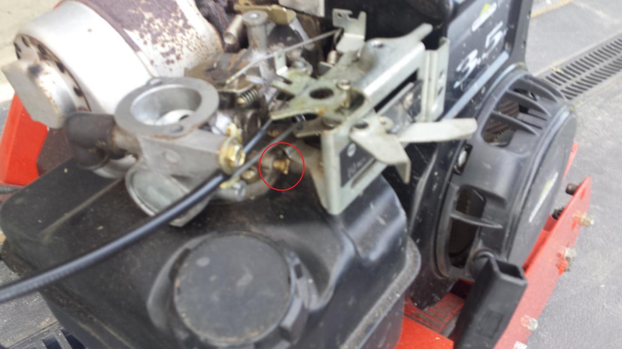 Briggs and Stratton 91202 Running Rich - OutdoorKing Repair Forum