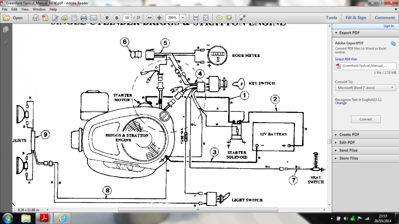 US8087482 moreover Wiring Diagram For A Kohler Motor additionally B95W furthermore Scag Mowers Wire Harness Diagram further Snapper Throttle Cable Diagram. on snapper switch wiring