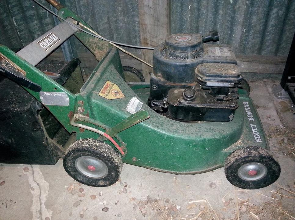 rover wayfarer lawn mower manual
