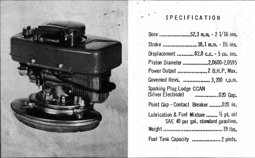 Kirby Ge A1 The First Lawnmower Engine Outdoorking