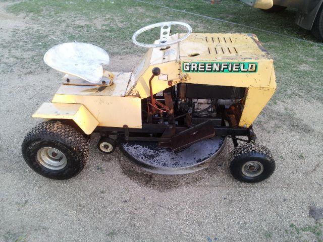 my new old mystery greenfield outdoorking repair forum rh outdoorking com Reel Mower greenfield ride-on mower workshop manual