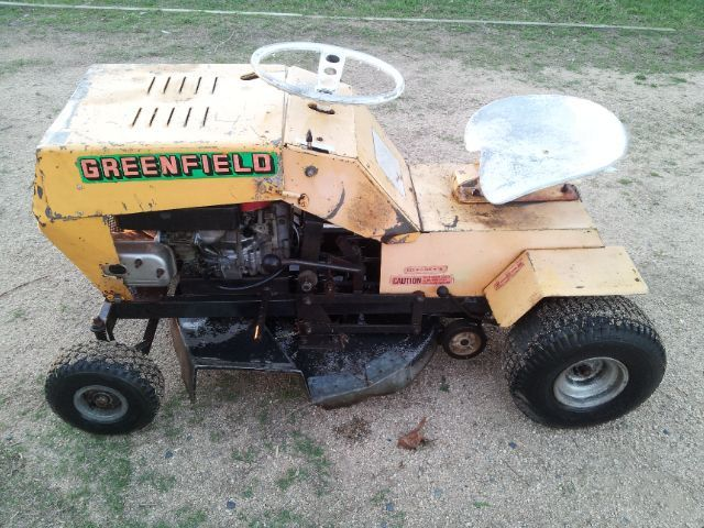 my new old mystery greenfield outdoorking repair forum rh outdoorking com greenfield ride-on mower workshop manual Reel Mower