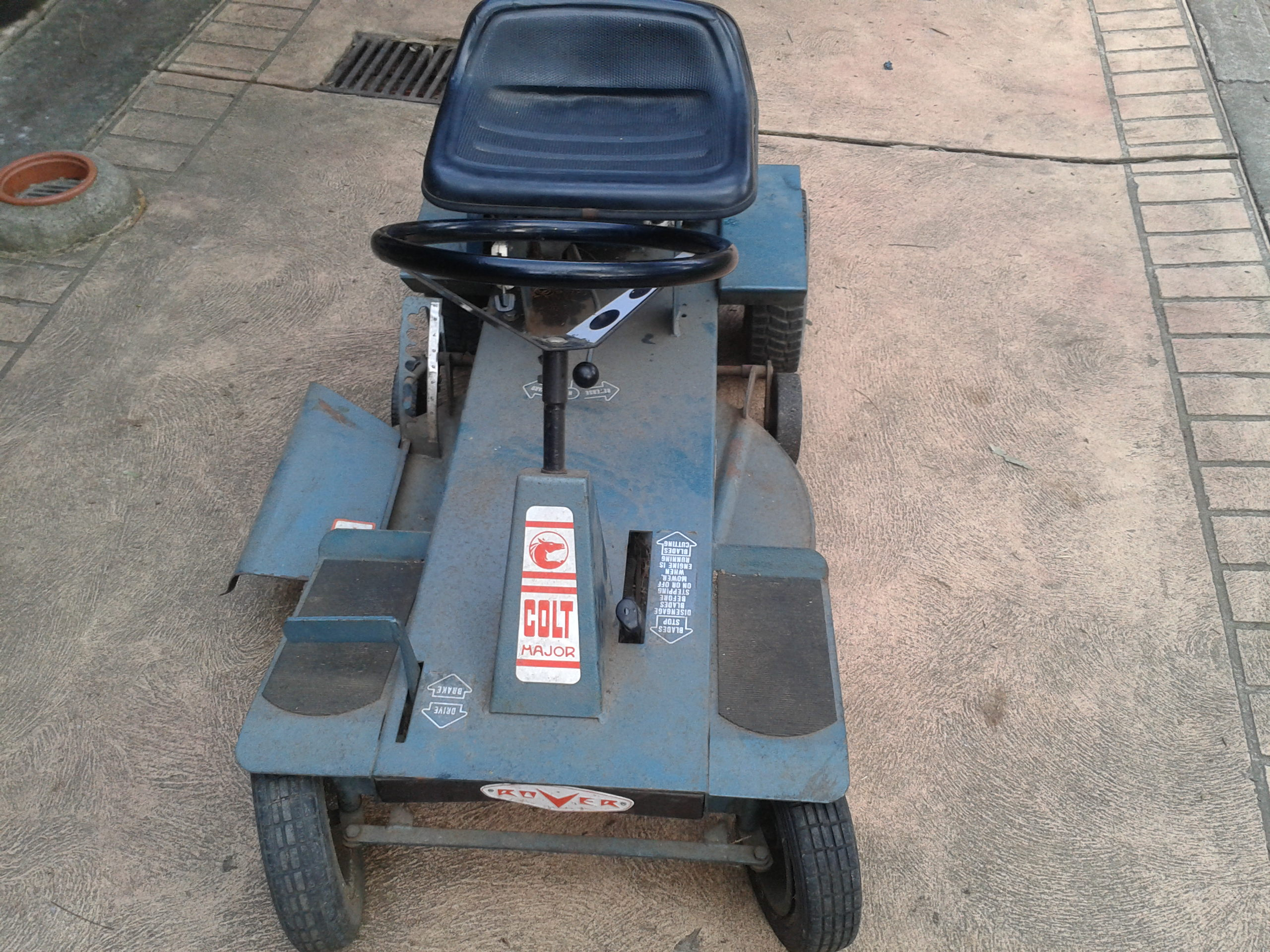 Rover Colt Major Ride On Outdoorking Repair Forum