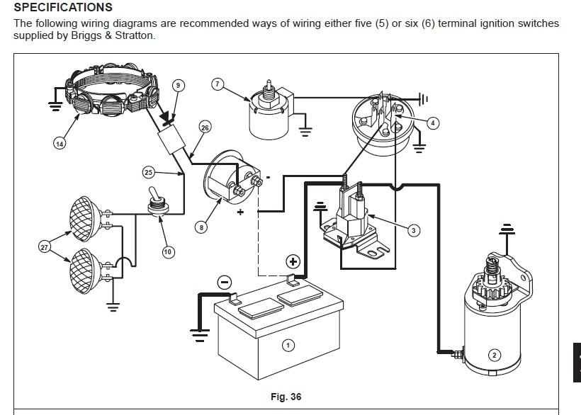 Briggs And Stratton 8hp Wiring Diagram Need Help