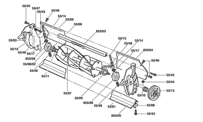 full 7392 22281 parts_reel new rover reel mowers outdoorking repair forum
