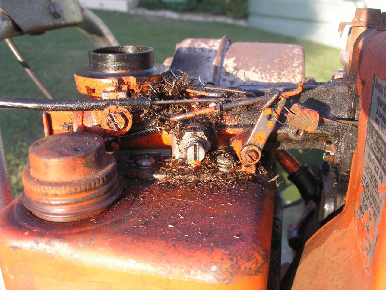2 5hp Briggs Outdoorking Repair Forum