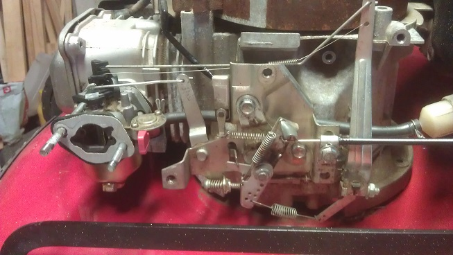 Sanli OHV 400 leaking fuel at carby - OutdoorKing Repair Forum