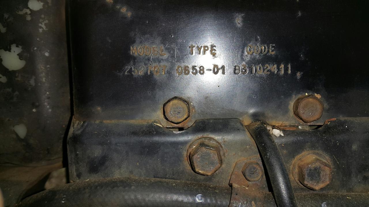 Old Greenfield 11 Outdoorking Repair Forum Enginebriggs Diagram And Parts List For Murray Walkbehindlawnmower Linked Image