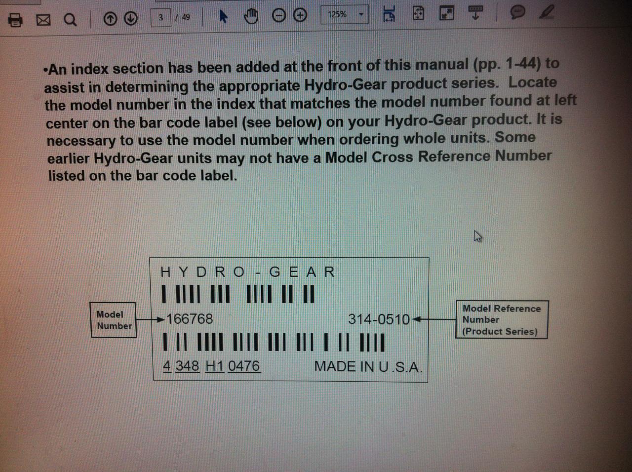 Toro Groundsmaster 72 Hydrostatic Trans problem - OutdoorKing Repair