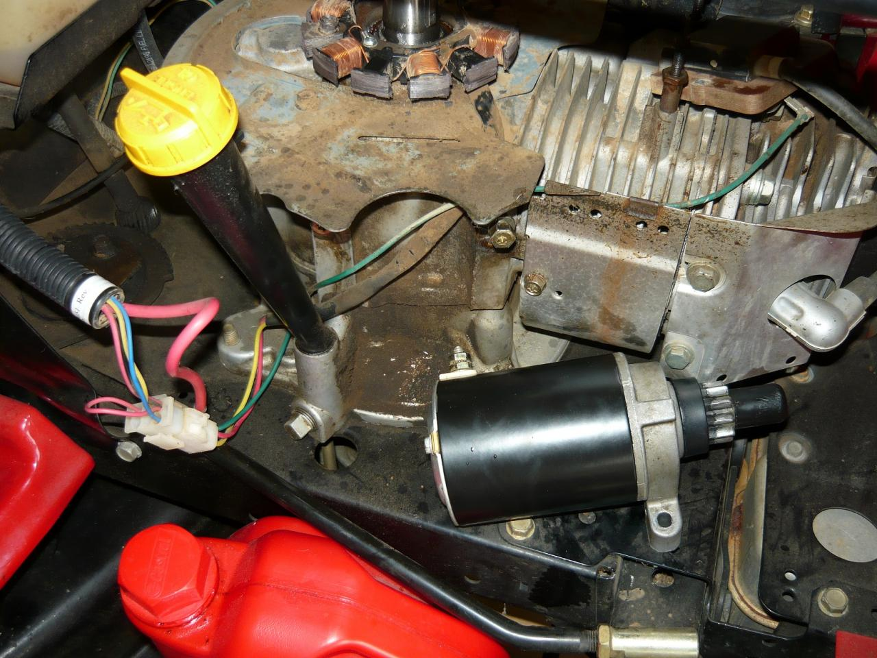 Tecumseh 13 5hp Engine - Flywheel Magnets - OutdoorKing Repair Forum