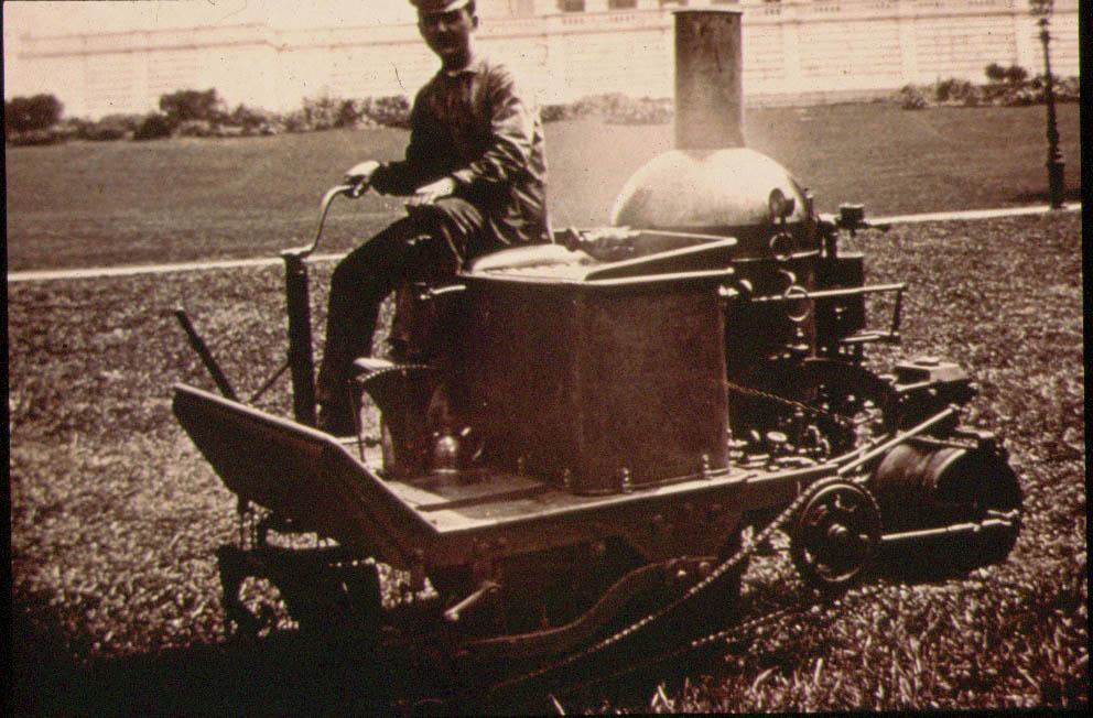 Coldwell Steam Estate Lawn Mower C1901 Outdoorking