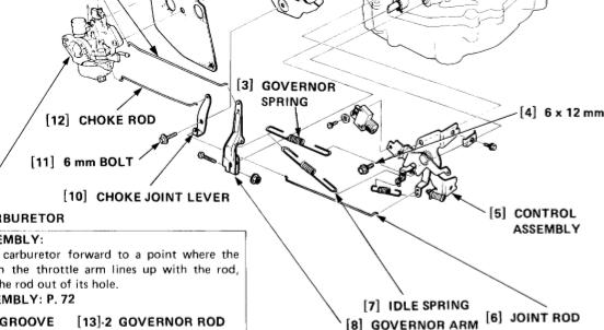 diagram of motor honda gx340