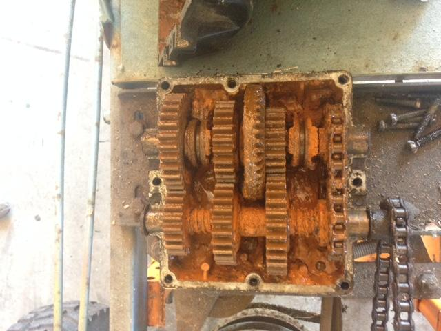 TheLawnRover gets another Rover: Foote 3-speed - OutdoorKing Repair