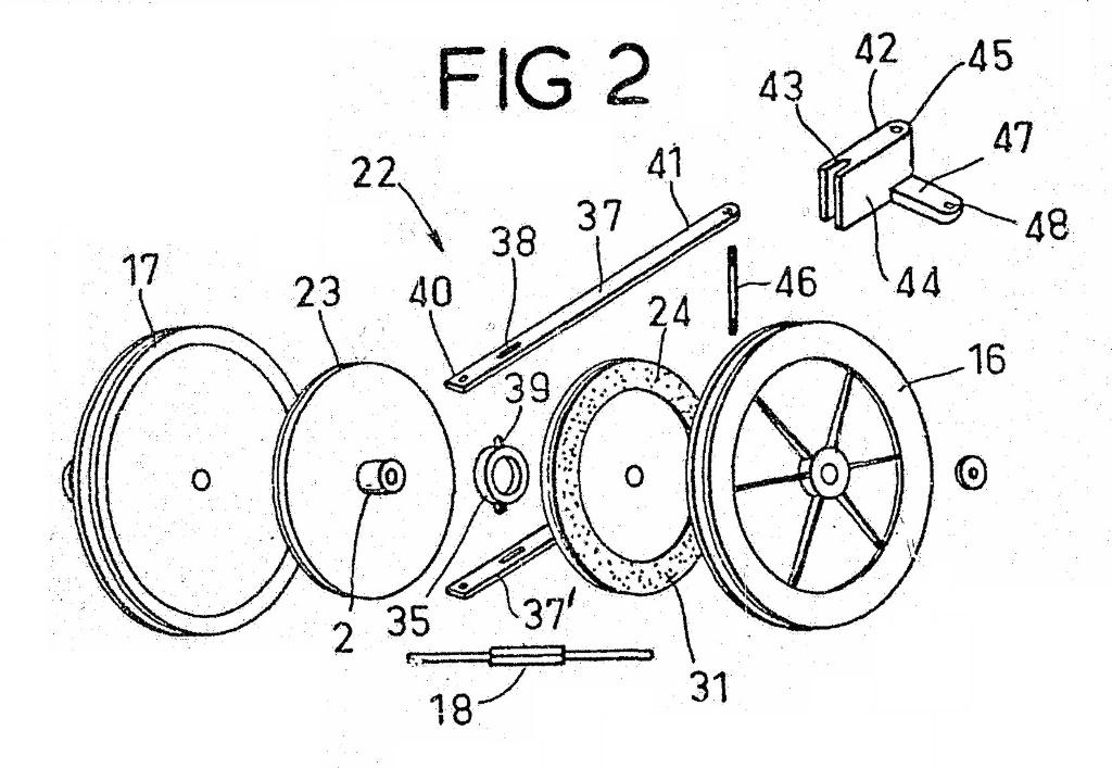 GREENFIELD - Theo Reinhold Patents 1980s - OutdoorKing Repair Forum