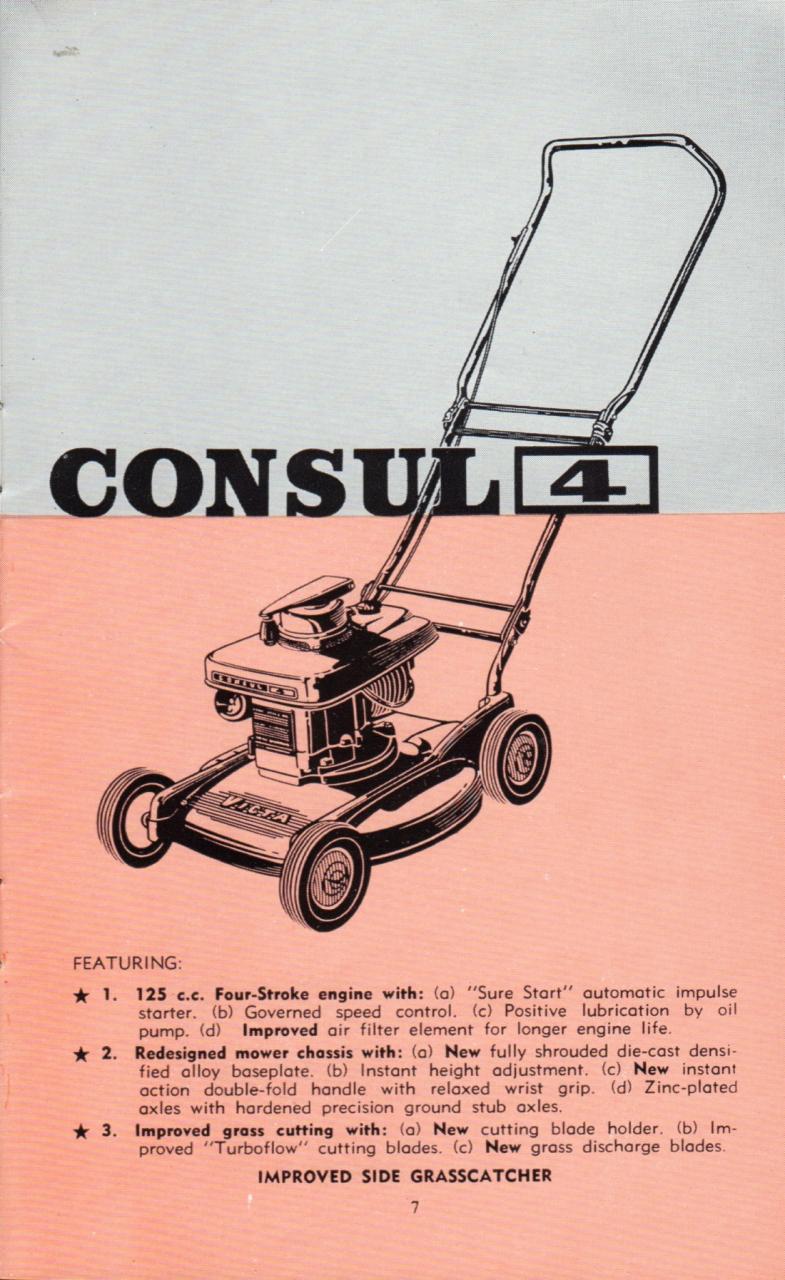 manual new victa mowers 1963 64 outdoorking repair forum rh outdoorking com  victa 160 mower manual