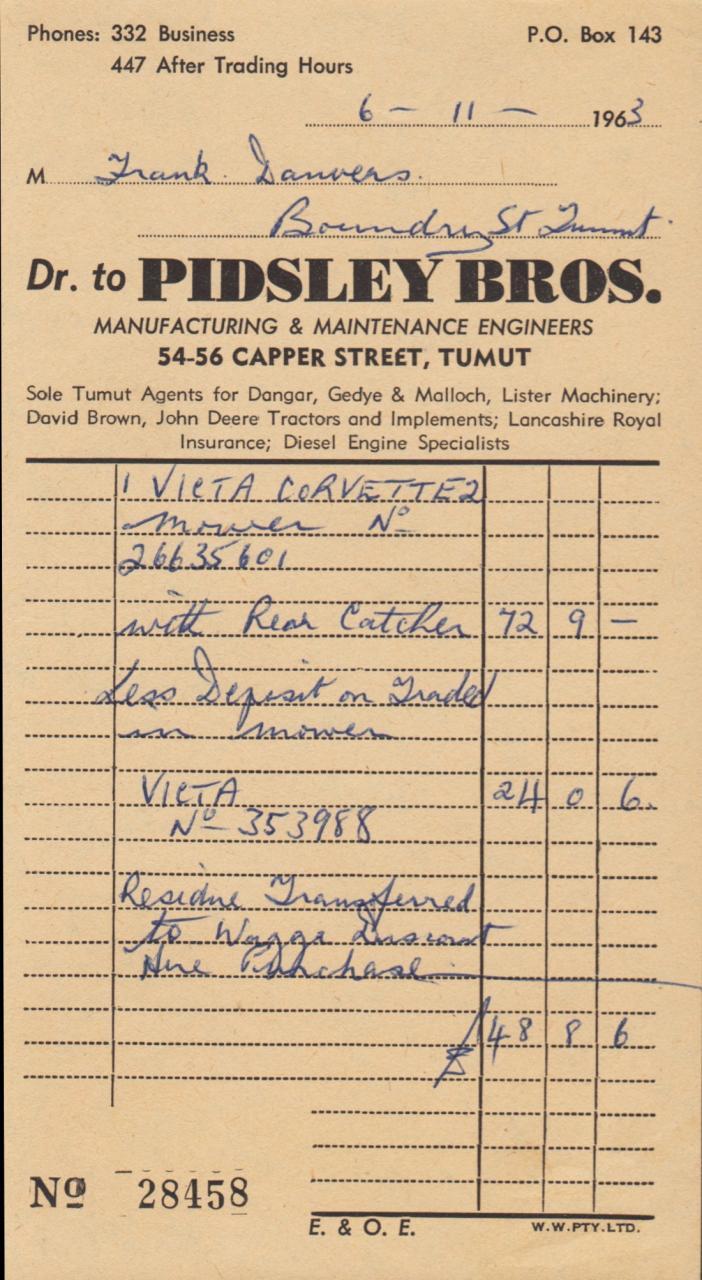 MANUAL - New Victa Mowers - 1963-64 - OutdoorKing Repair Forum