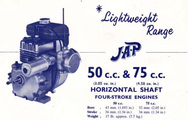 VILLIERS - Lightweight Horiz  4-Strokes - c1960s