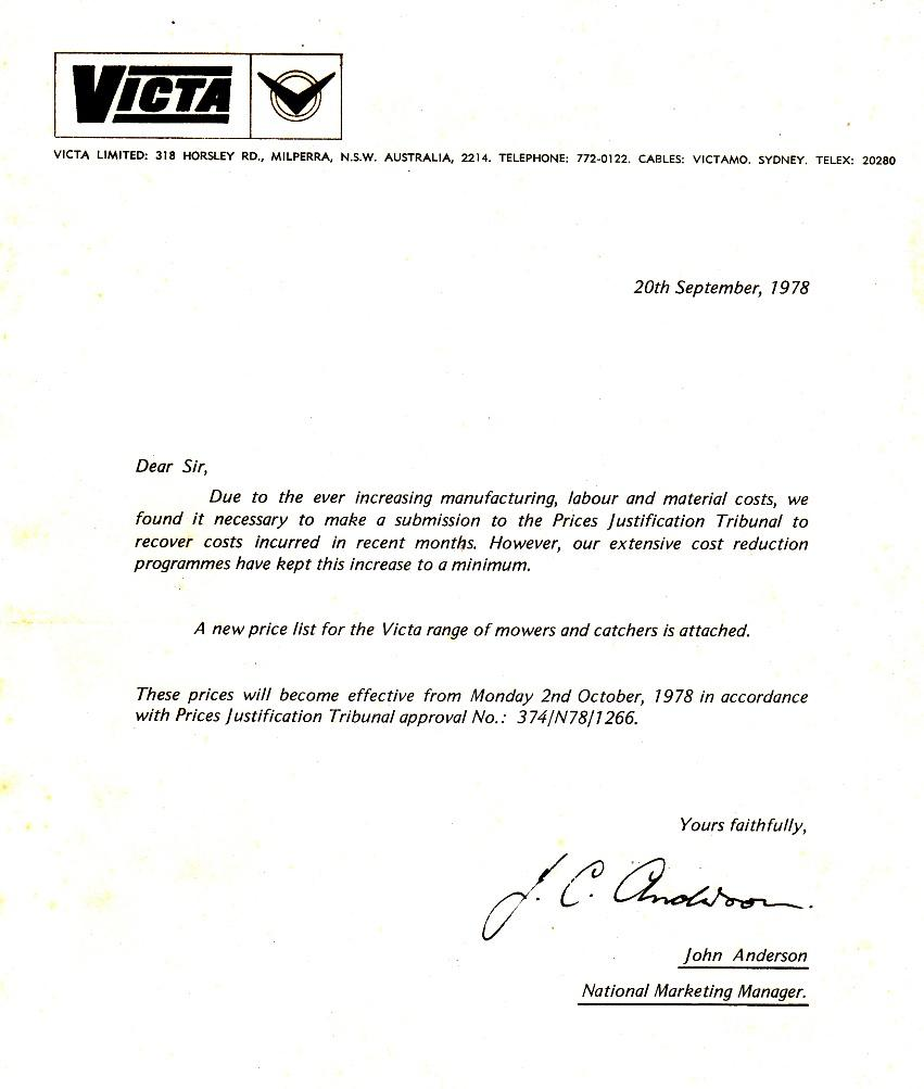 Brochure c1976 and letter c1978 outdoorking repair forum picked up this letter and brochure thecheapjerseys Images