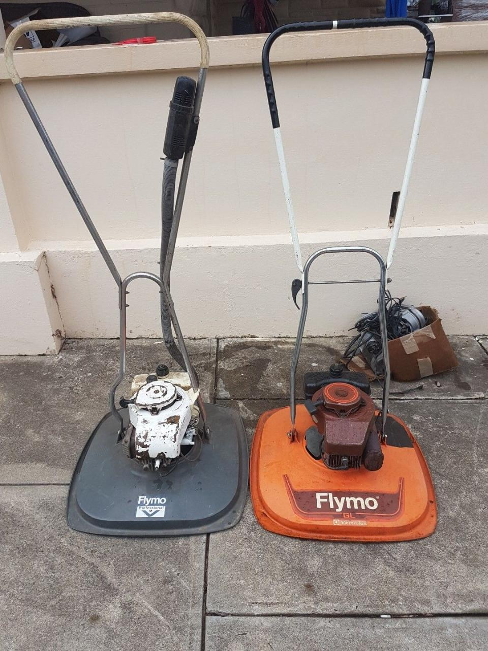 flymo petrol hover mower a first for me outdoorking. Black Bedroom Furniture Sets. Home Design Ideas